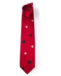 Corbata a lunares roja de Gianfranco Ferre