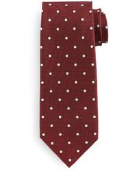 Corbata a lunares roja de Tom Ford