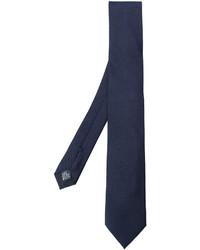 Corbata bordada azul marino de Dolce & Gabbana