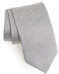 Corbata de espiguilla gris de Eton