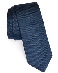 Corbata de lana azul marino de Saint Laurent