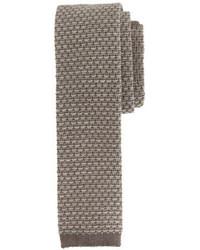 Corbata de lana en beige de J.Crew