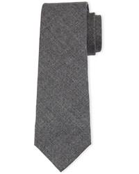 Corbata de lana en gris oscuro de Brunello Cucinelli