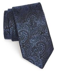Corbata de paisley azul marino de Michael Kors