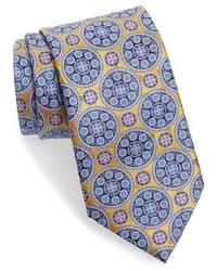 Corbata de seda amarilla de Ermenegildo Zegna