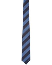 Corbata de seda azul marino de Burberry
