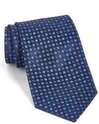Corbata de seda azul marino de John Varvatos