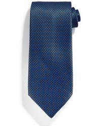 Corbata de seda azul marino de Stefano Ricci