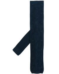 Corbata de Seda Azul Marino de Tom Ford