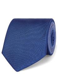 Corbata de seda azul de Burberry