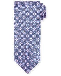 Corbata de seda azul de Stefano Ricci