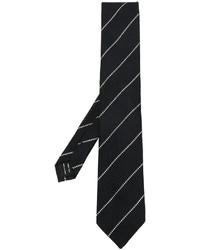 Corbata de Seda de Rayas Horizontales Negra de Tom Ford