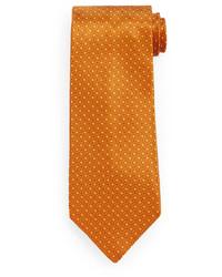 Corbata de seda dorada de Stefano Ricci