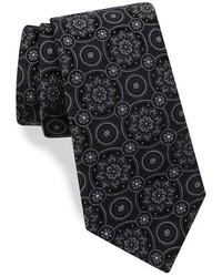 Corbata de seda en gris oscuro de Ted Baker