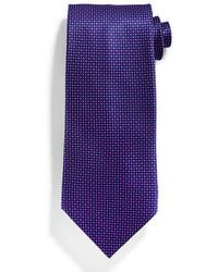 Corbata de seda en violeta de Stefano Ricci