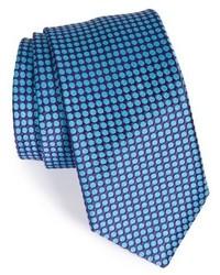 Corbata de seda en violeta de Ted Baker