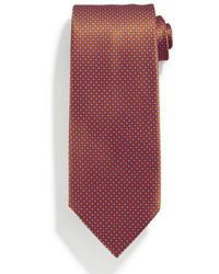 Corbata de seda estampada rosa de Stefano Ricci