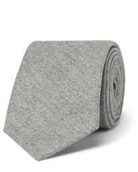 Corbata de seda gris de Brunello Cucinelli