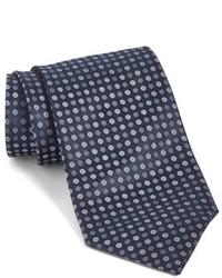 Corbata de seda negra de John Varvatos