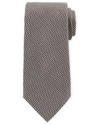 Corbata de seda plateada de Tom Ford