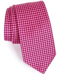 Corbata de seda rosa de Ted Baker