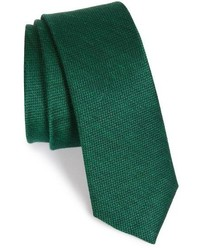 Corbata de seda verde oscuro de The Tie Bar