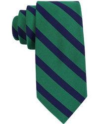 Corbata de tartán en azul marino y verde