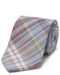 Corbata de tartán en multicolor
