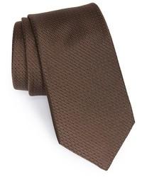 Corbata en marrón oscuro de Michael Kors