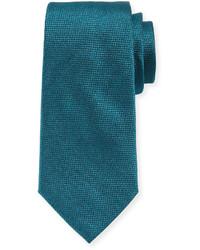 Corbata en verde azulado de Armani Collezioni