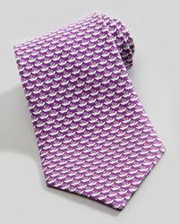 Corbata en violeta de Salvatore Ferragamo