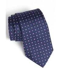 Corbata estampada azul marino de Nordstrom