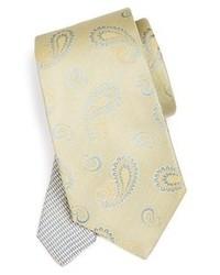 Corbata estampada en beige de Etro