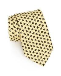Corbata estampada en beige de Vineyard Vines