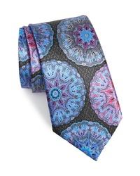 Corbata estampada en multicolor