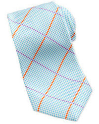Corbata estampada en turquesa de Neiman Marcus