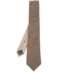 Corbata marrón de Brunello Cucinelli
