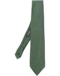 Corbata verde oliva de Etro