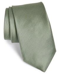 Corbata verde oliva de Michael Kors