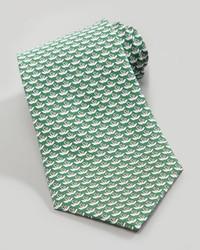 Corbata verde de Salvatore Ferragamo
