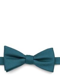 Corbatín en verde azulado
