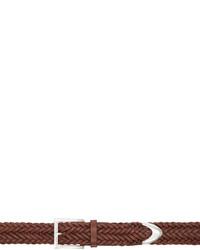 Correa de cuero marrón de Rag & Bone