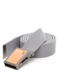 Correa de lona gris de Will Leather Goods