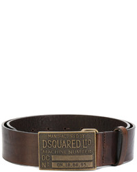 Correa en marrón oscuro de DSQUARED2