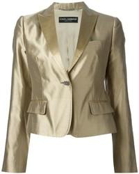 Costume doré Dolce & Gabbana