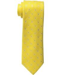 Cravate á pois jaune Tommy Hilfiger