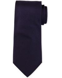 Cravate bleu marine Giorgio Armani