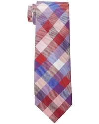 Cravate écossais multicolore Tommy Hilfiger