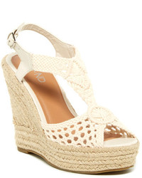 Crochet wedge sandals original 10400251