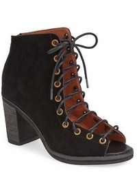 Cutout lace up ankle boots original 9785356
